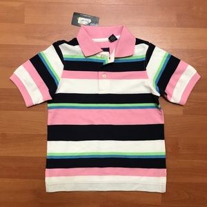 Class Club  Boys Striped Polo Shirt Size 2T/3T